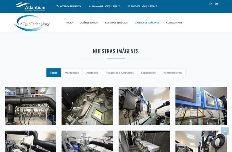 AQUA Technology - WDesign - Diseño Web Profesional