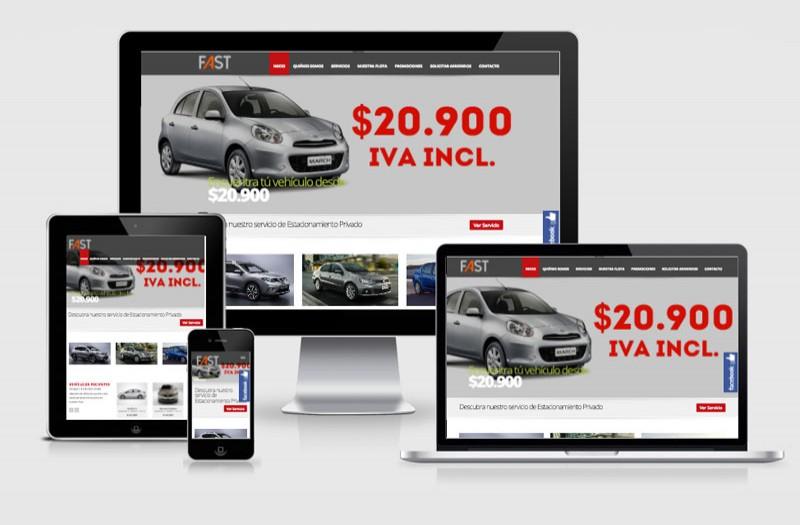Fast Rental  - WDesign - Diseño Web Profesional