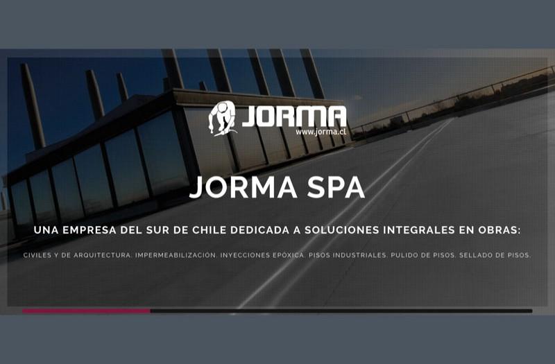 Jorma SpA - WDesign - Diseño Web Profesional