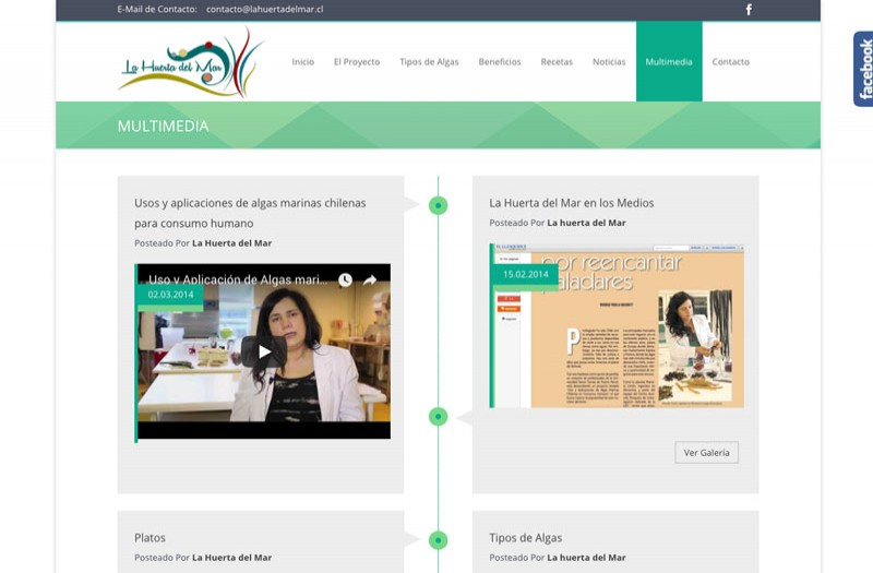 La Huerta del Mar - WDesign - Diseño Web Profesional