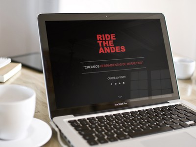 Ride the Andes - WDesign - Diseño Web Profesional